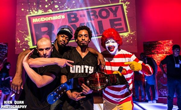 McDonald's B-Boy Royale 4 con los mejores bailadores de 'Breakdance' este sábado