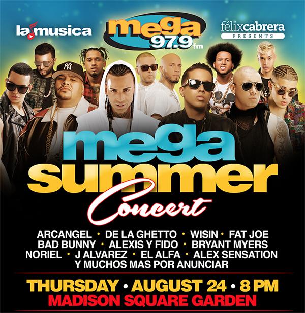 Mega concert MSG August 24 copy