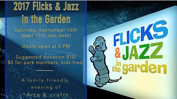 Flicks & Jazz in the Garden This September 16 in Sunnyside