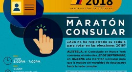 Maratón del Consulado de Colombia en NY para inscribir cédulas por elecciones 2018