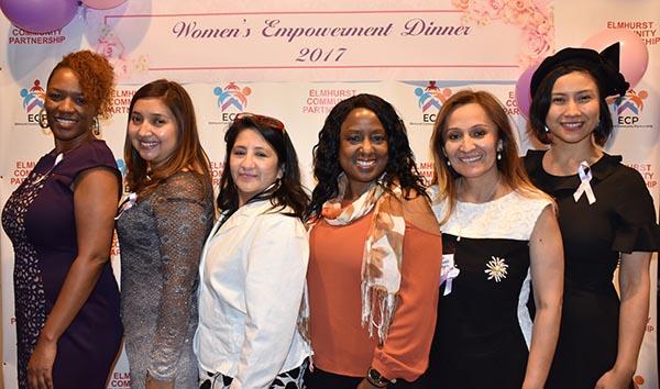 Elmhurst community Partnership celebra tercera cena por las mujeres