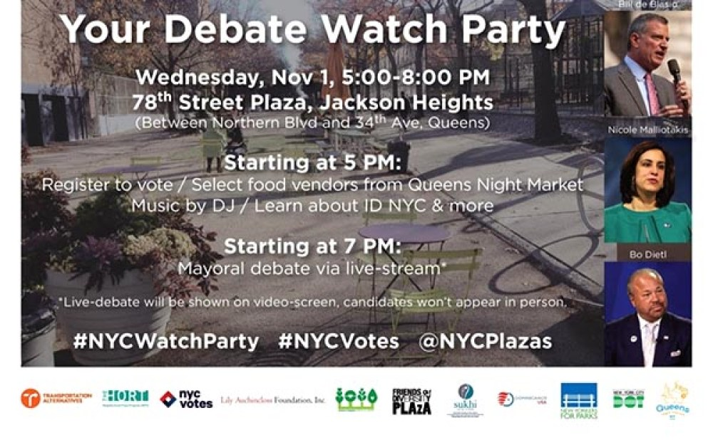 Mayoral Debate watch