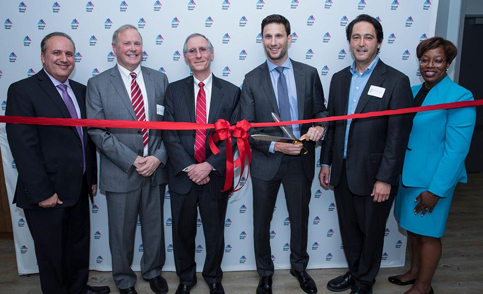 The opening of Mount Sinai Hospital