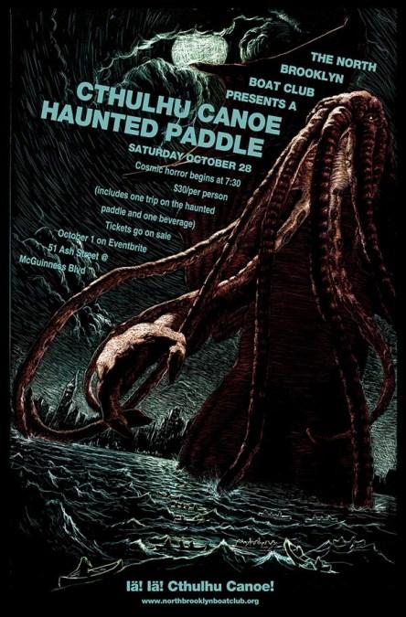 Reme en canoa en la oscuridad este sábado 28 de octubre y confronte el horror de Halloween