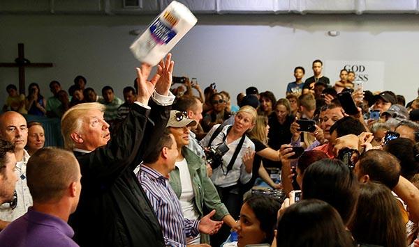 Presidente 'Trump' insulta a Puerto Rico