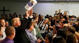 Presidente Trump: 'No podemos ayudar a Puerto Rico para siempre'