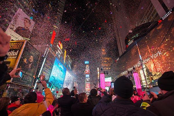 Cómo celebrar el año nuevo en Nueva York
