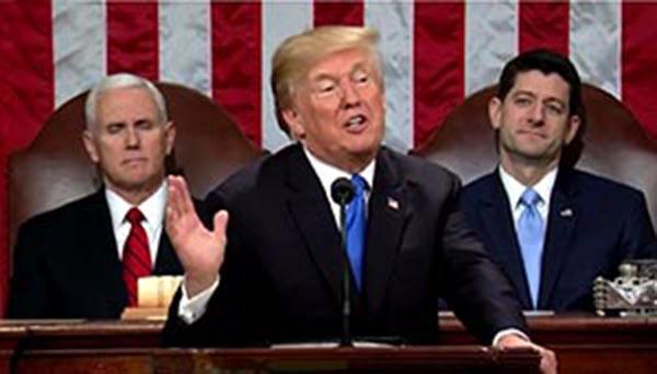 Presidente Trump busca unidad para construir muro fronterizo