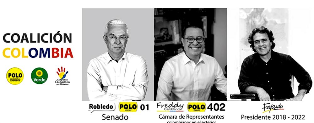 Candidatos Coalicion colombia
