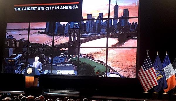 Alcalde de Blasio y el futuro de Nueva York