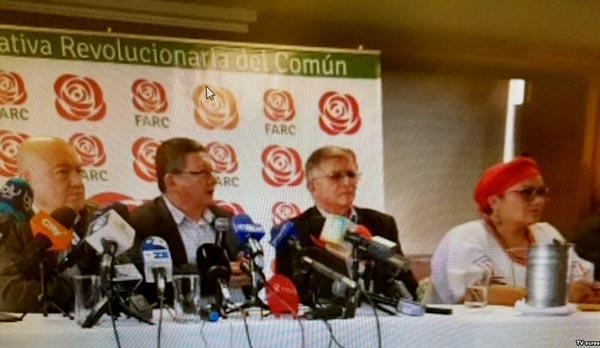 FARC frena campaña presidencial en Colombia