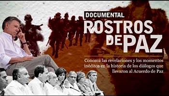 Rostros de paz Colombia