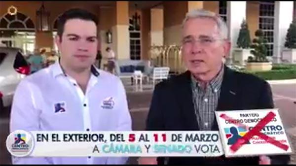 Juan David Vélez gana curul de colombianos en exterior