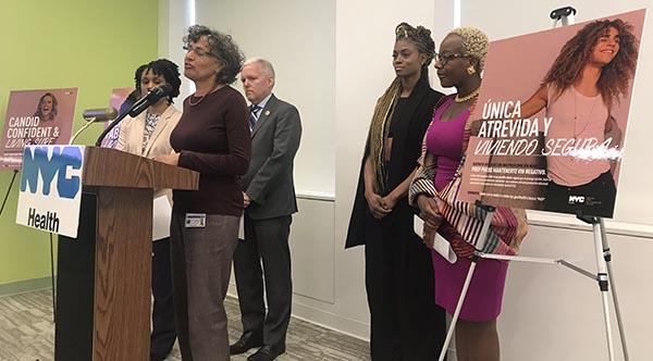 Campaña en NYC de prevención del HIV entre mujeres
