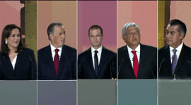 México realiza primer debate por la presidencia