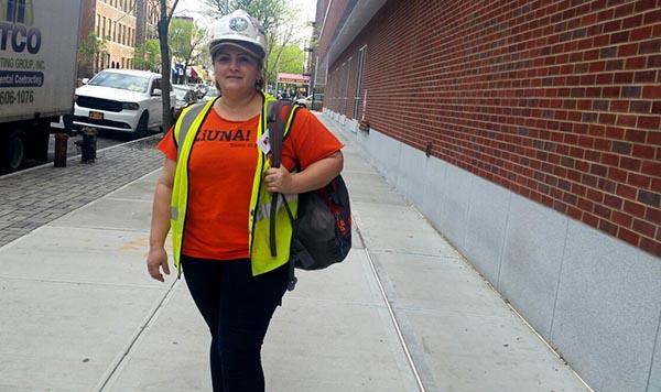Madre Martha Coronel: 'La construcción es muy dura'
