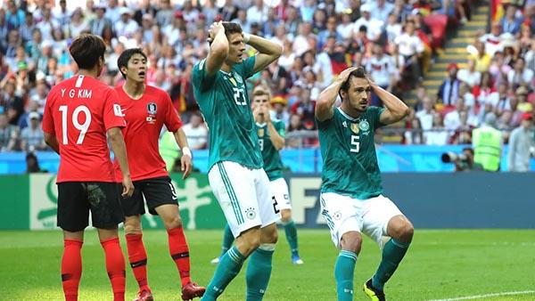 Alemania sale del Mundial y México pierde pero avanza