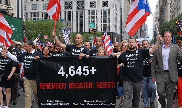Desfile Puertorriqueño de NY por la reconstrucción de la isla
