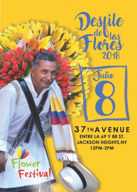 Desfile de las Flores el domingo 8 de julio del 2018