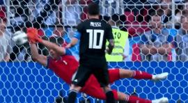 Messi bota penalti y Argentina no convence en Copa Mundo