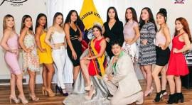 Reinas del Comité Cívico Ecuatoriano este sábado en Sabor Latino