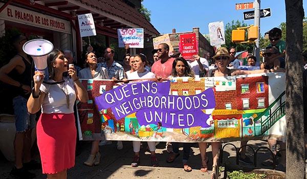 Marcha en Queens por reunificación de familias inmigrantes