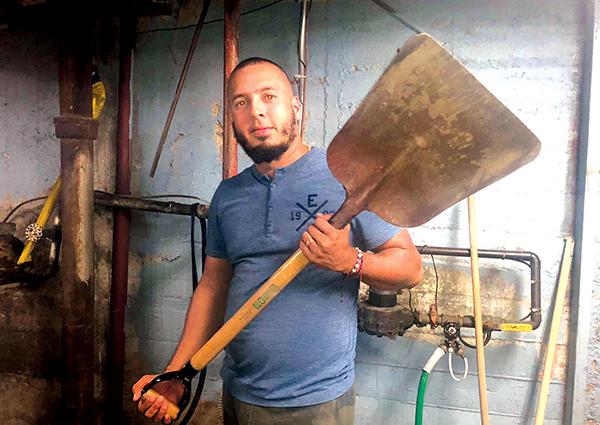 La construcción salva el hogar de Odali Tavares