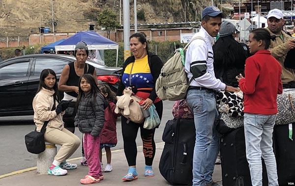 Crisis de refugiados venezolanos afecta el continente