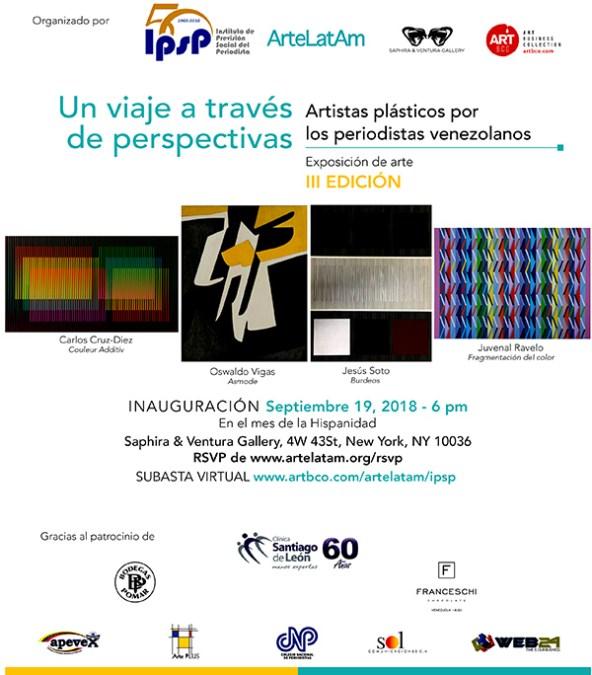 ArteLatAm exposición artistas para periodista venezolanos