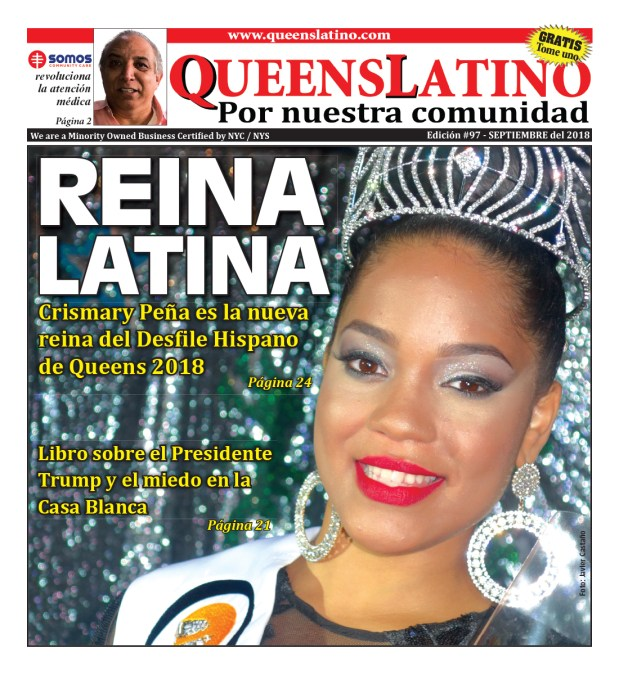 Reina del Desfile Hispano de Queens 2018