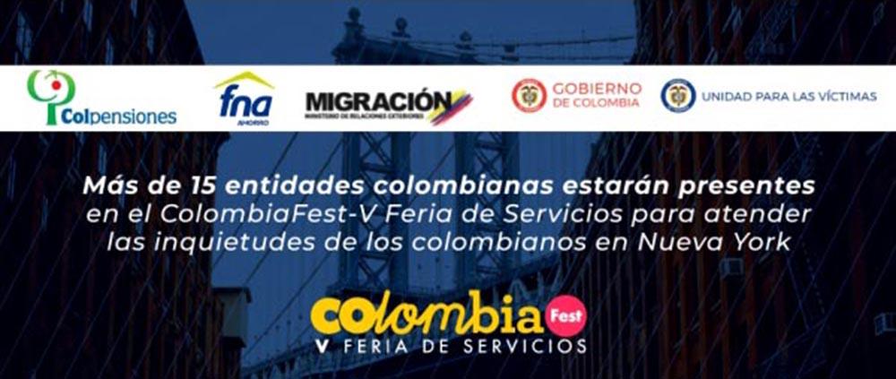 Colombia feria servicios NYC 2018