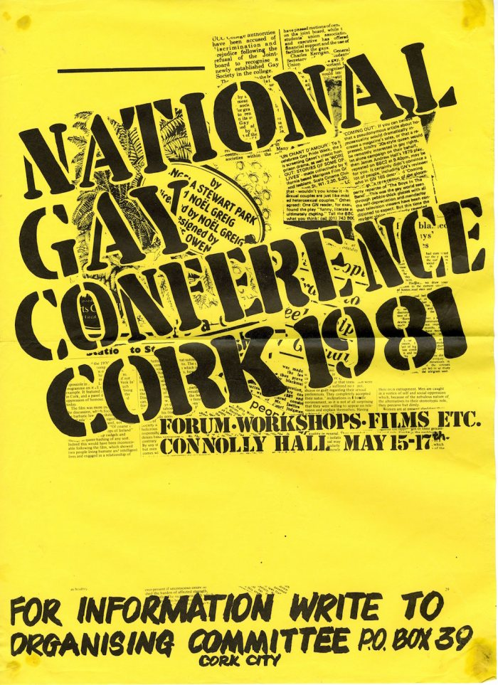 1981NationalGayConferenceCorkPoster