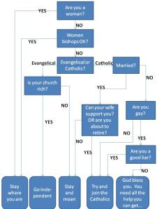 The Career Choices for Church of England Priests