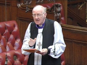 Former Bishop of Winchester Michael Scott-Joynt speaking in House of Lords