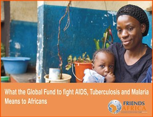 What the global fund for HIV means to Africans - an African mother and baby