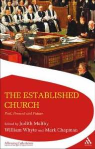 Established Church - bishops sitting in the House of Lords