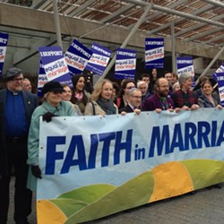 Faith in Marriage and the Scottish Churches supporting marriage equality