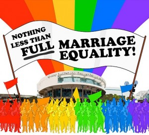 Nothing Less than Full Marriage Equality