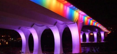 Rainbow Bridge , Minneapolis