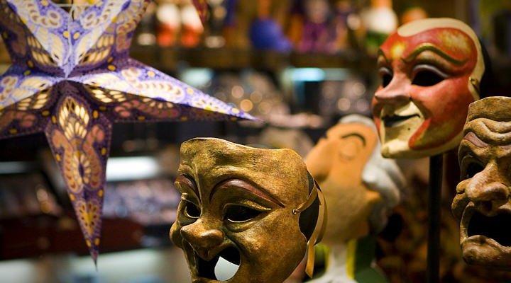 mascaras de carnaval