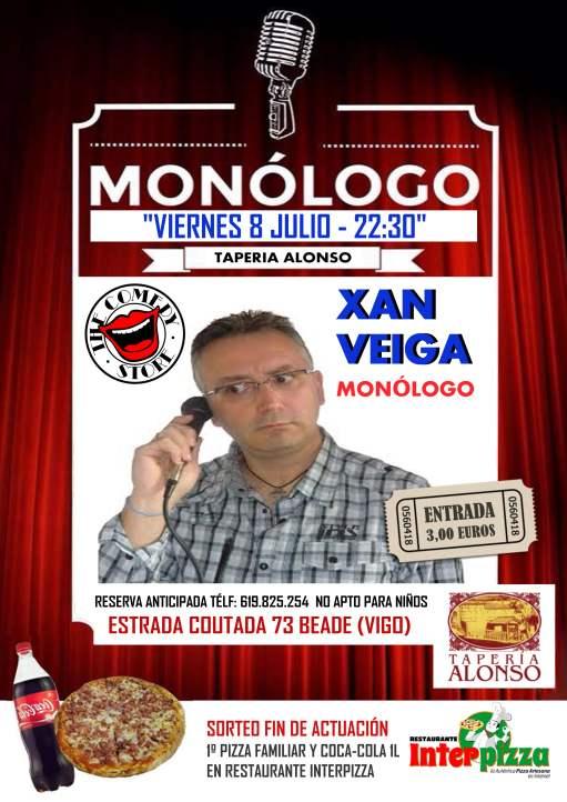 Monólogo de Xan Veiga