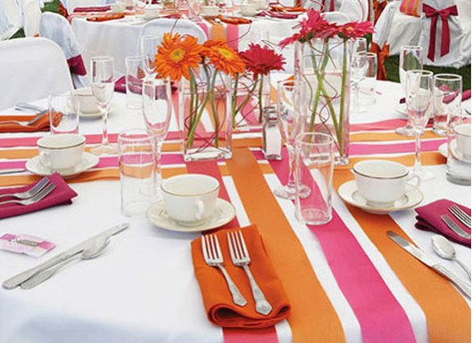 Manteles mesas boda