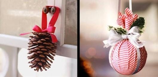 Lazos decoración navidad