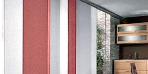 tende vetrate shabby : tende a pannelli scorrevoli, perfette per porte finestre o vetrate ...