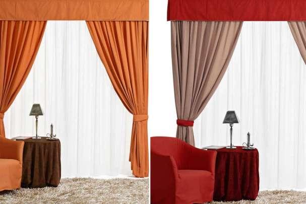 Scegliere le tende per interni questioni di arredamento - Tende in legno per interni ...