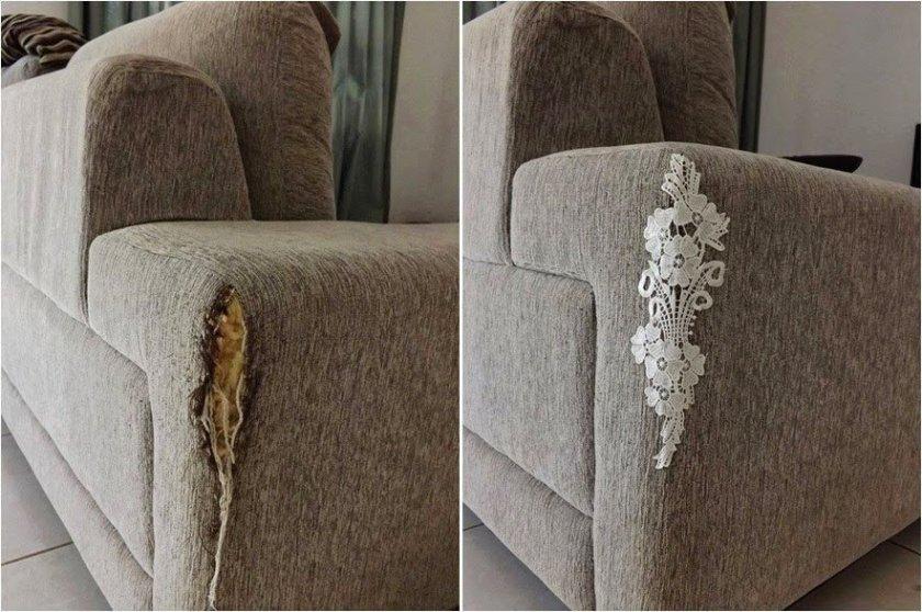 Come riparare un divano graffiato dal gatto