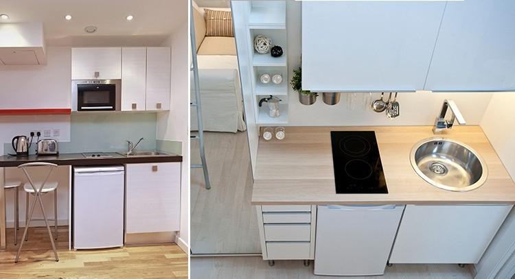 Arredare un monolocale questioni di arredamento - Mini cucine per monolocali ...