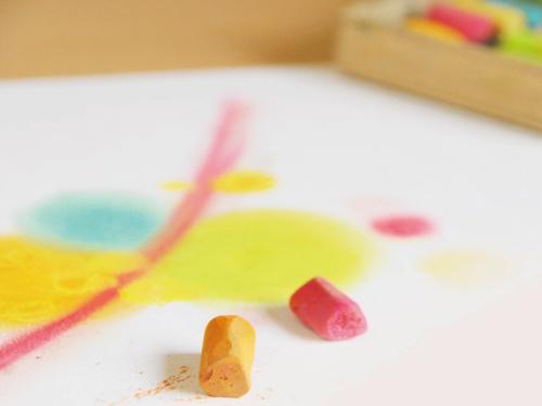 【通学】アートセラピー初級認定講座風景