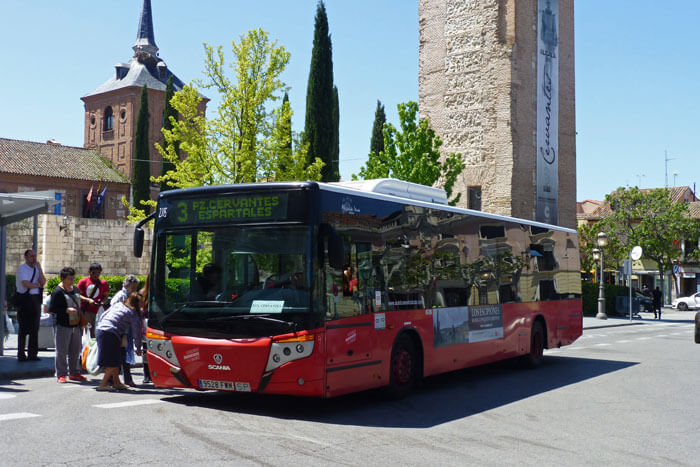 Alcal de henares madrid gu a tur stica para planificar for Autobuses alcala de henares