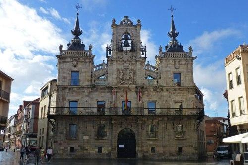 Ayuntamiento de Astorga en la Plaza Mayor